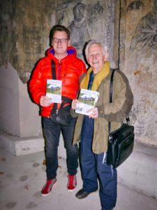 Andreas Fiedler (Freital Magazin) mit Herrn Kammer
